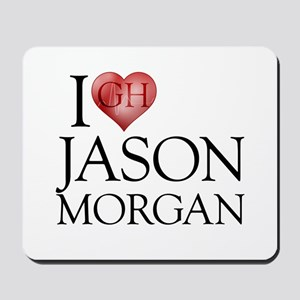 I Heart Jason Morgan Mousepad