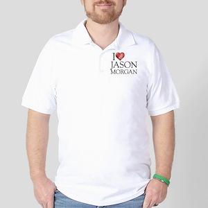 I Heart Jason Morgan Golf Shirt
