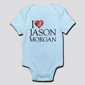 I Heart Jason Morgan Infant Bodysuit