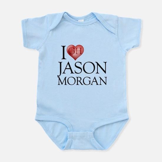 I Heart Jason Morgan Infant Bodysuit