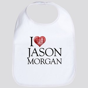 I Heart Jason Morgan Bib