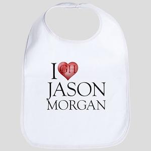 I Heart Jason Morgan Bib