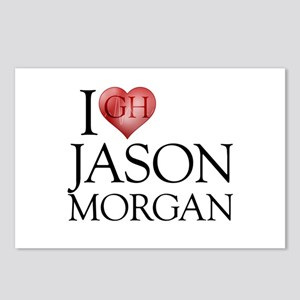 I Heart Jason Morgan Postcards (Package of 8)