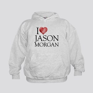 I Heart Jason Morgan Kid's Hoodie