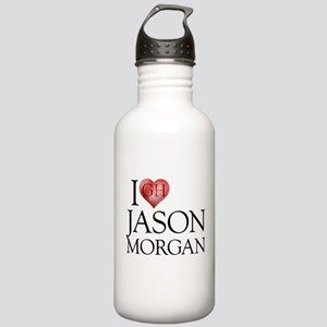 I Heart Jason Morgan Stainless Water Bottle 1.0L