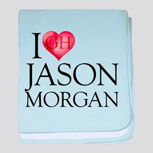 I Heart Jason Morgan Infant Blanket
