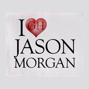 I Heart Jason Morgan Stadium Blanket