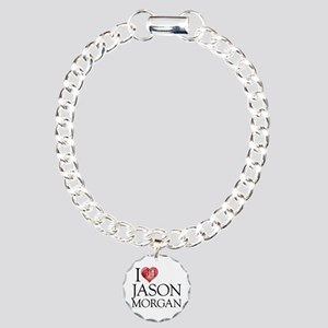 I Heart Jason Morgan Charm Bracelet, One Charm