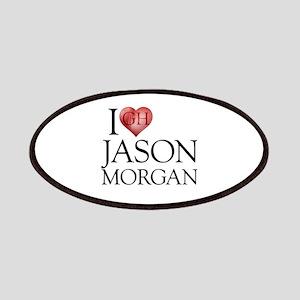 I Heart Jason Morgan Patches
