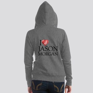 I Heart Jason Morgan Women's Zip Hoodie