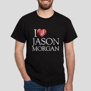 I Heart Jason Morgan Dark T-Shirt