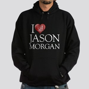 I Heart Jason Morgan Dark Hoodie