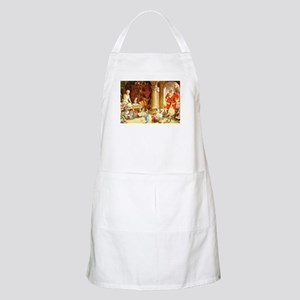 Mrs. Claus & the Elves Bake Christmas Cookie Apron
