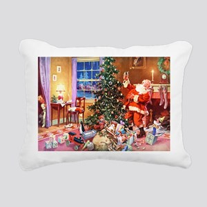 The Night Before Christm Rectangular Canvas Pillow