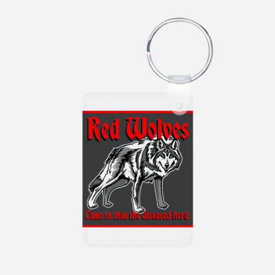 Red Wolves Keychains