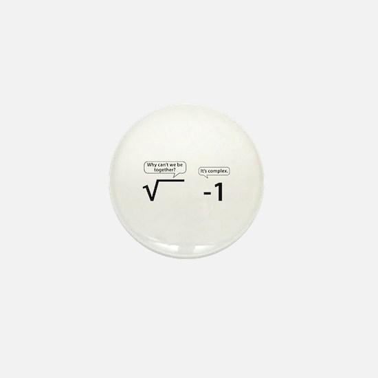 It's Complex Mini Button