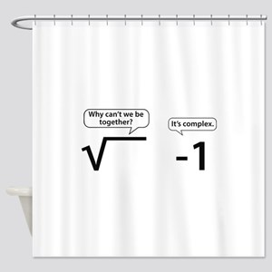 It's Complex Shower Curtain