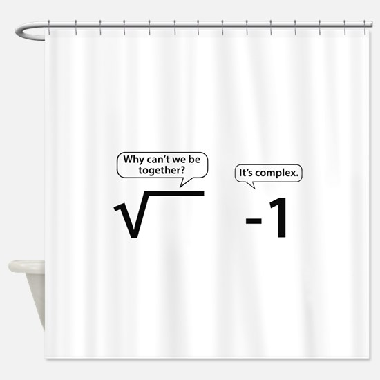 It's Complex Shower Curtain