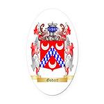 Godart Oval Car Magnet