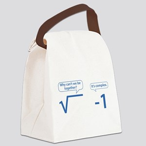 It's Complex Canvas Lunch Bag