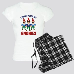 Chillin' With My Gnomies Women's Light Pajamas
