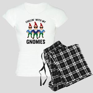 Chillin' With My Gnomies Women's Light Pajamas