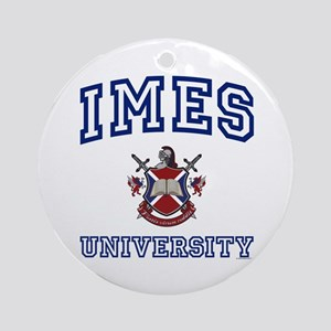 IMES University Ornament (Round)