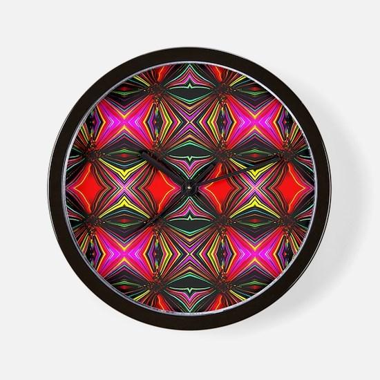 Migraine Optic Illusion Wall Clock