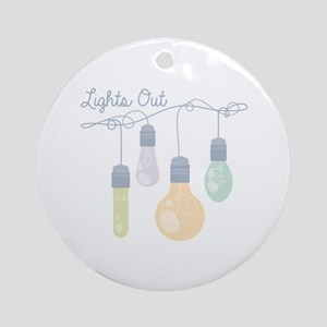 Lights Out Strand Ornament (Round)