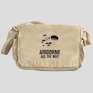 Parachuting Messenger Bag