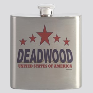 Deadwood U.S.A. Flask