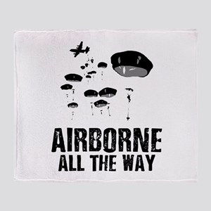 Parachuting Throw Blanket