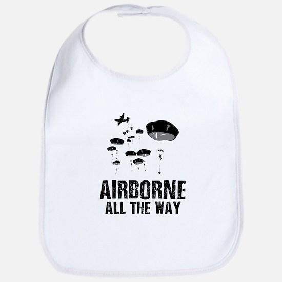 Parachuting Baby Bib