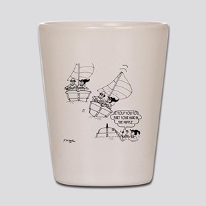 Sailing Cartoon 7510 Shot Glass