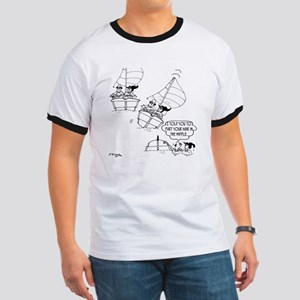 Sailing Cartoon 7510 Ringer T