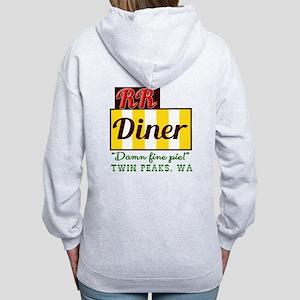 Double RR Diner in Twin Peaks Women's Zip Hoodie