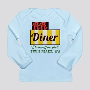 Double RR Diner in Twin Long Sleeve Infant T-Shirt