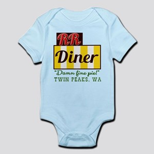 Double RR Diner in Twin Peaks Infant Bodysuit