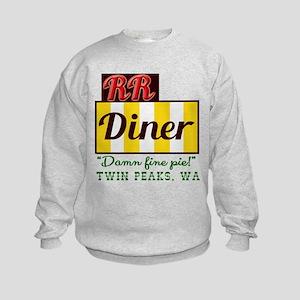 Double RR Diner in Twin Peaks Kids Sweatshirt