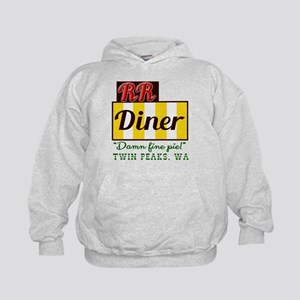 Double RR Diner in Twin Peaks Kids Hoodie