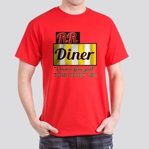 Double RR Diner in Twin Peaks Dark T-Shirt