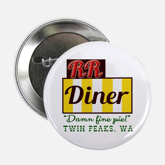 """Double RR Diner in Twin Peaks 2.25"""" Button"""