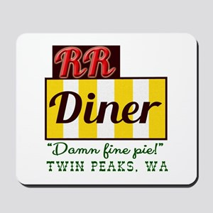 Double RR Diner in Twin Peaks Mousepad