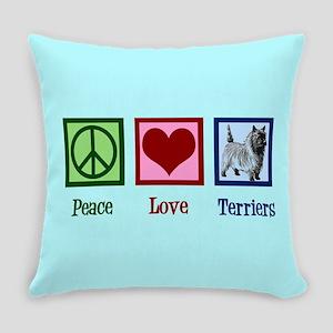 Cairn Terrier Everyday Pillow