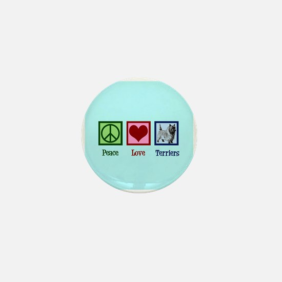Cairn Terrier Mini Button