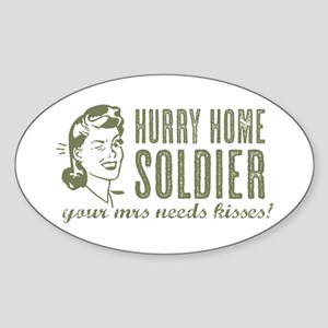 Hurry Home Soldier Sticker
