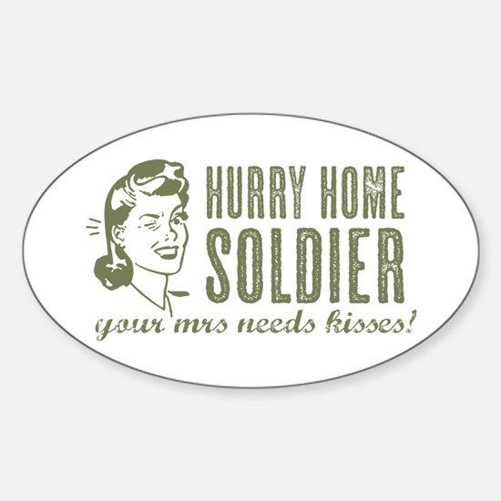 Hurry Home Soldier Decal