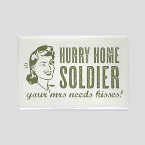 Hurry Home Soldier Magnets