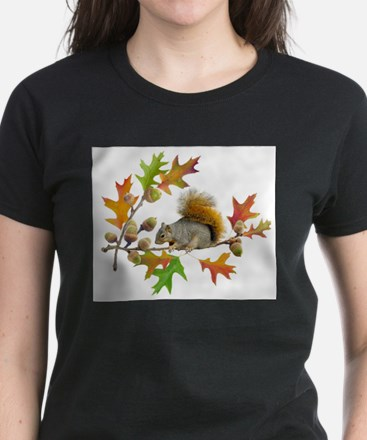 Squirrel Oak Acorns T-Shirt