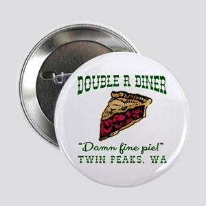 "Twin Peaks Cherry Pie Diner 2.25"" Button"